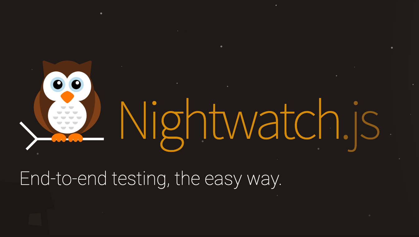 Nightwatch js | Node js powered End-to-End testing framework
